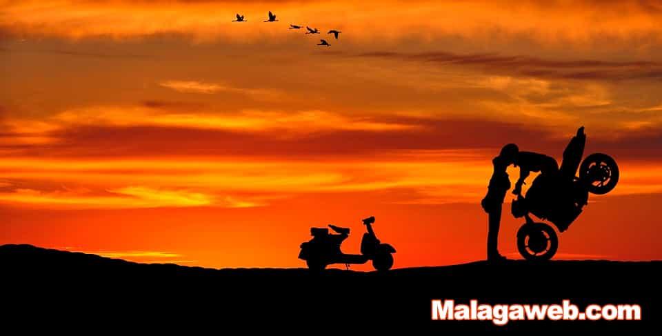 Motorbike rally show
