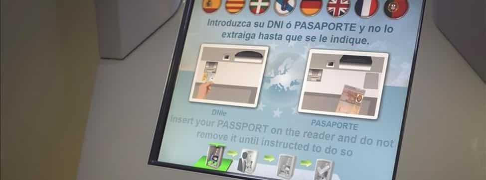 Biometric control at the airport