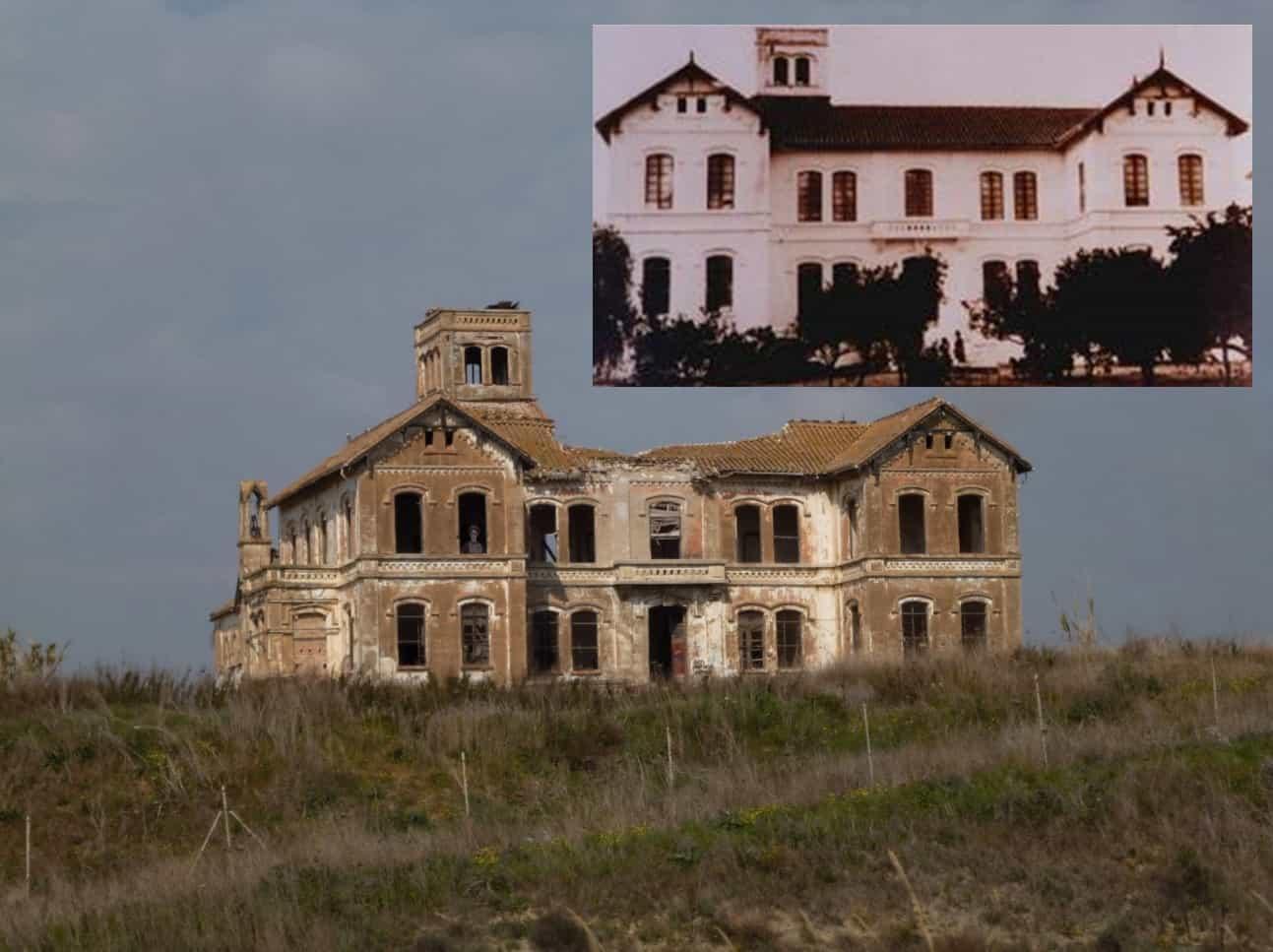 Before and after of Cortijo Jurado