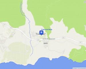 mapa cueva-nerja
