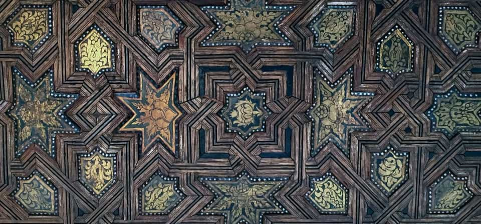 Detail of decoration in Alhambra