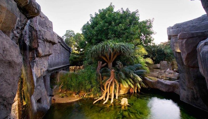 Natürliche Umwelt in Bioparc wiederhergestellt