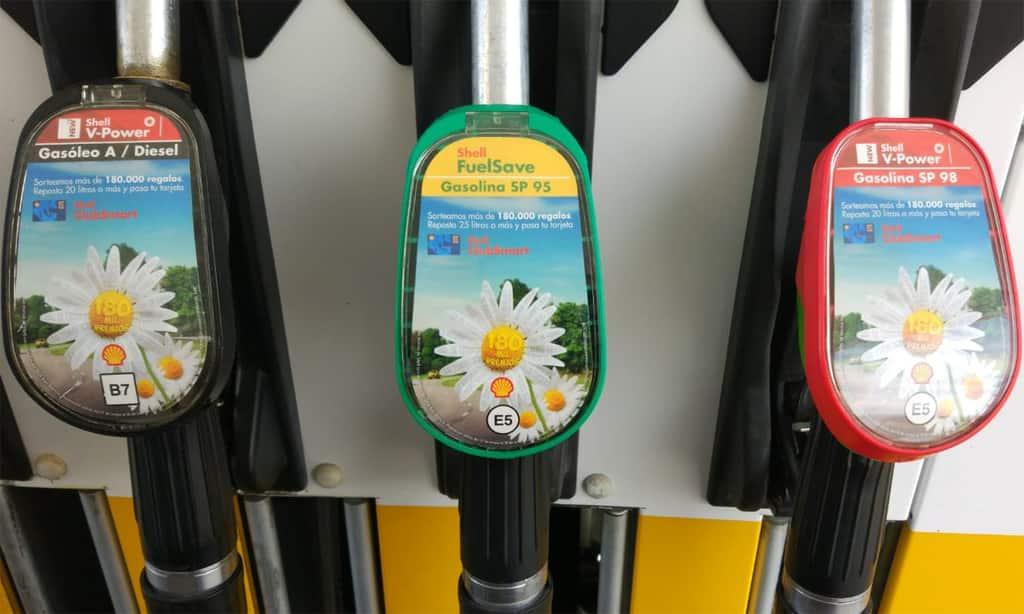 nuevo etiquetado en gasolineras