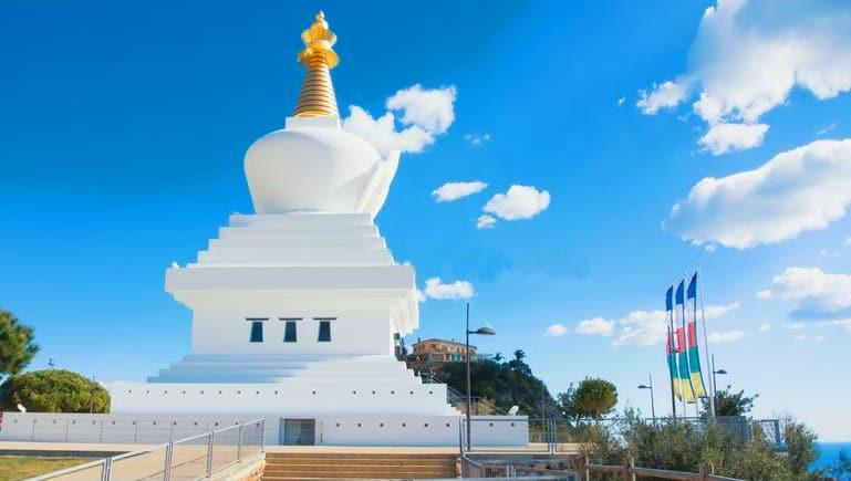 Exterior Estupa de la Iluminación