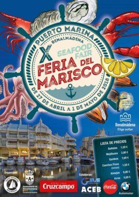 Feria del Marisco en Benalmádena 2018