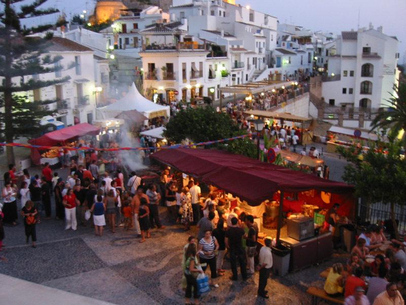 Festival de las 3 culturas en Frigiliana