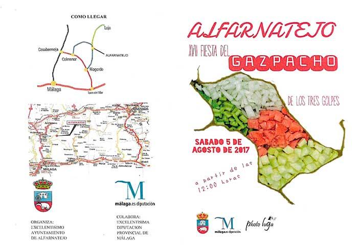 Gazpacho Fest in Alfarnatejo