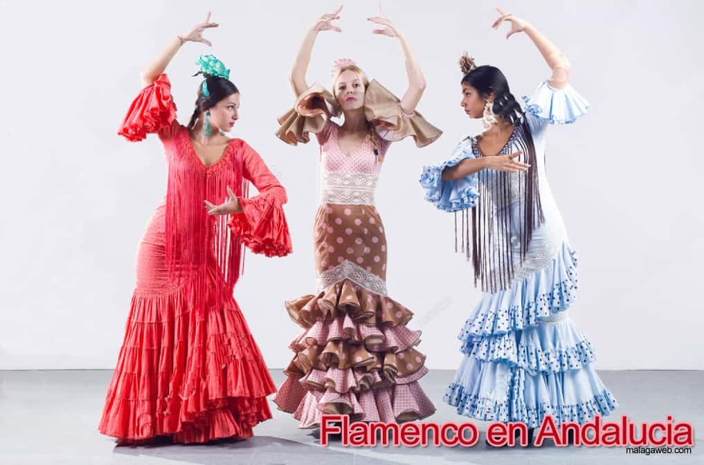 Flamenco y folclore en Málaga y Andalucia