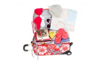 packing up for holiday to Malaga in September