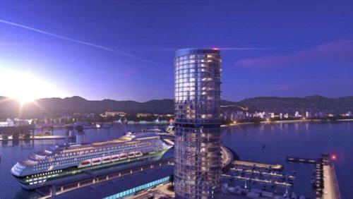 hotel en el puerto de Málaga