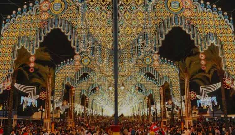 iluminación Feria de Jerez