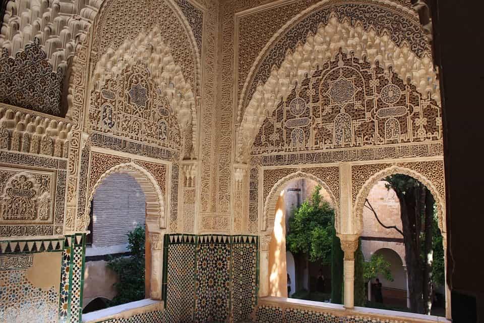Detalles interior alhambra