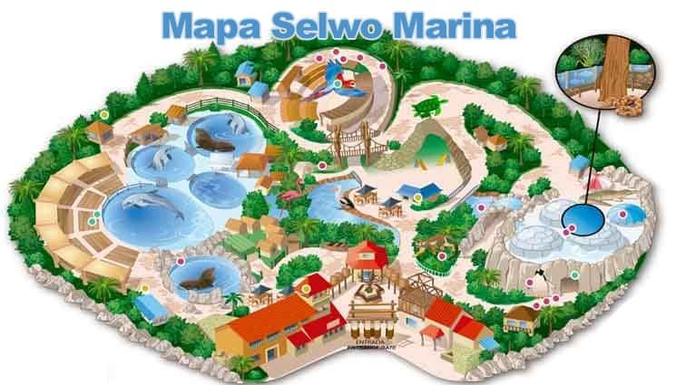 Mapa de Selwo Marina