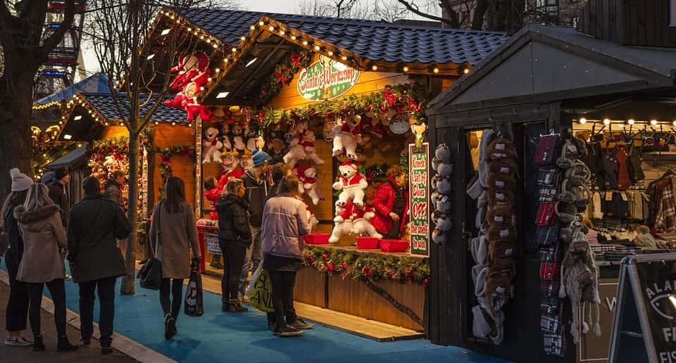 Mercadillo Navidad en Estepona