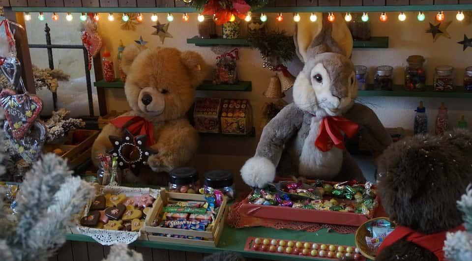 Puesto de Mercado de Navidad