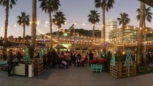 mercados navideños en Málaga
