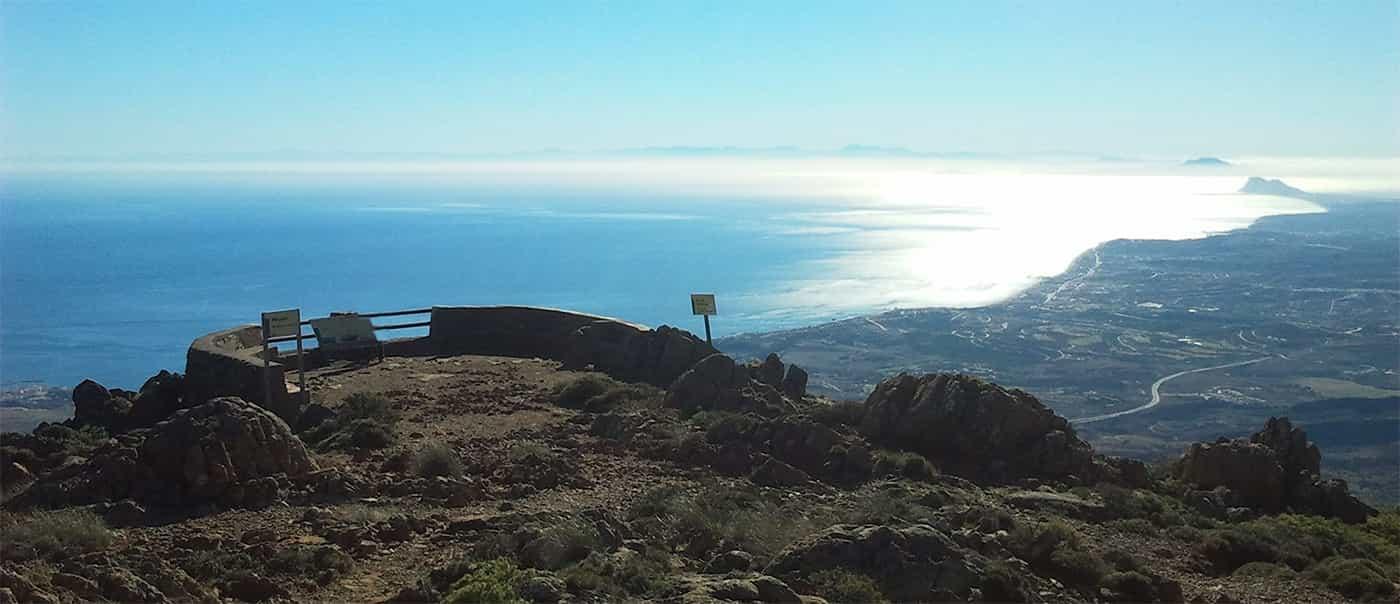 Mirador de Estepona en Sierra Bermeja