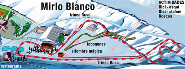 Recreative area of Mirlo Blanco