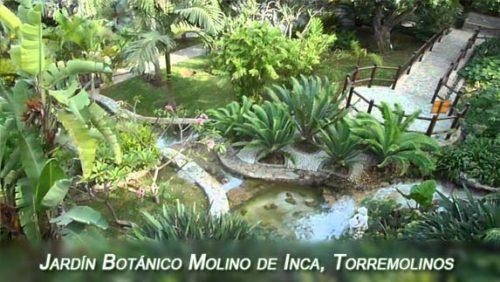 Jardín Botánico Molino de Inca en Torremolinos
