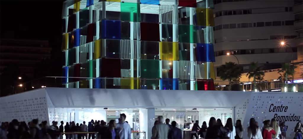 Visitando museos de noche en Málaga