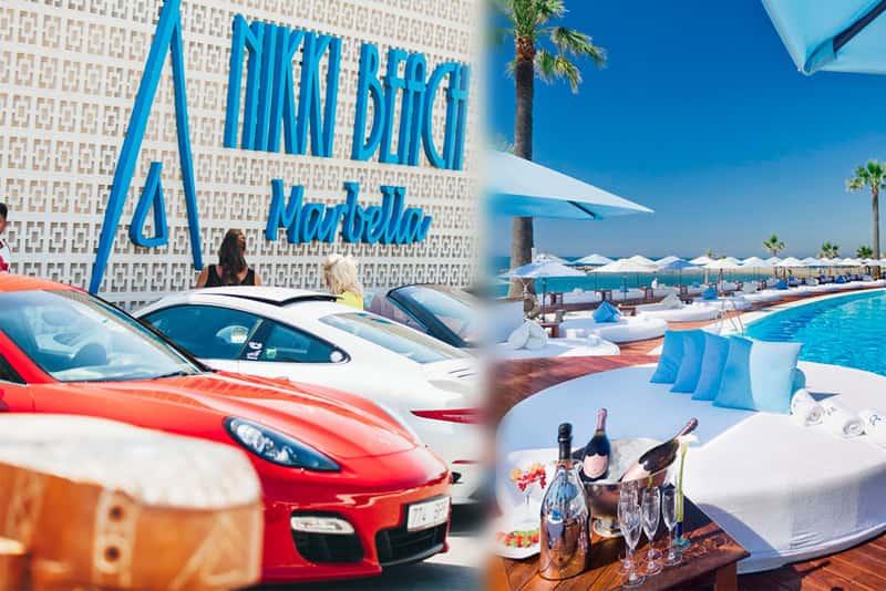 Nikki Beach en Marbella