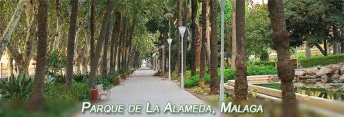 Parque de la Alameda en Málaga