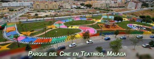 Parque del Cine en Teatinos, Málaga