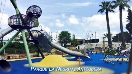 Parque La Negrita en Antequera