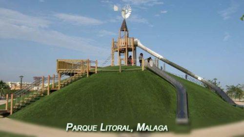 Parque Litoral en Málaga