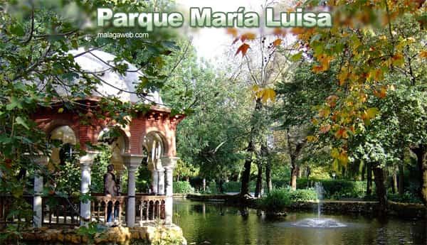 Parque María Luisa en Sevilla