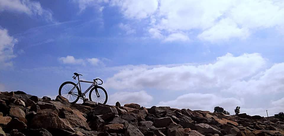 Paseo en bici por Málaga