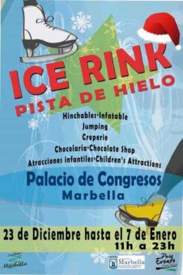 Ice rink in Marbella 2018