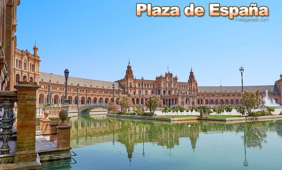Plaza de España y Parlamento en Sevilla
