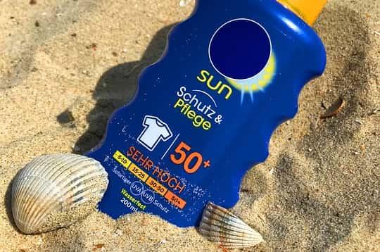 Sun cream SPF 50+