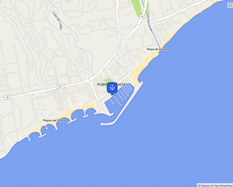 map puerto-banus