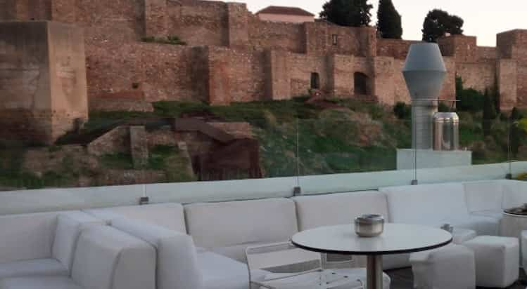 Views from batis restaurant rooftop terrace