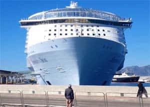 Symphony of the Seas en Málaga