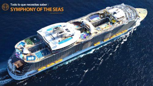 symphony-of-the-seas vista aérea