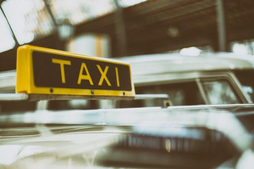 Huelga de taxis en Málaga