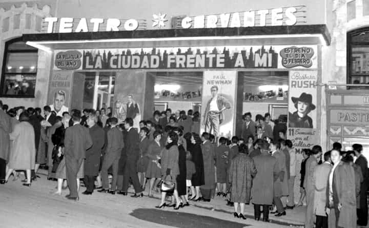 Cervantes Theatre in the middle of the 20th century