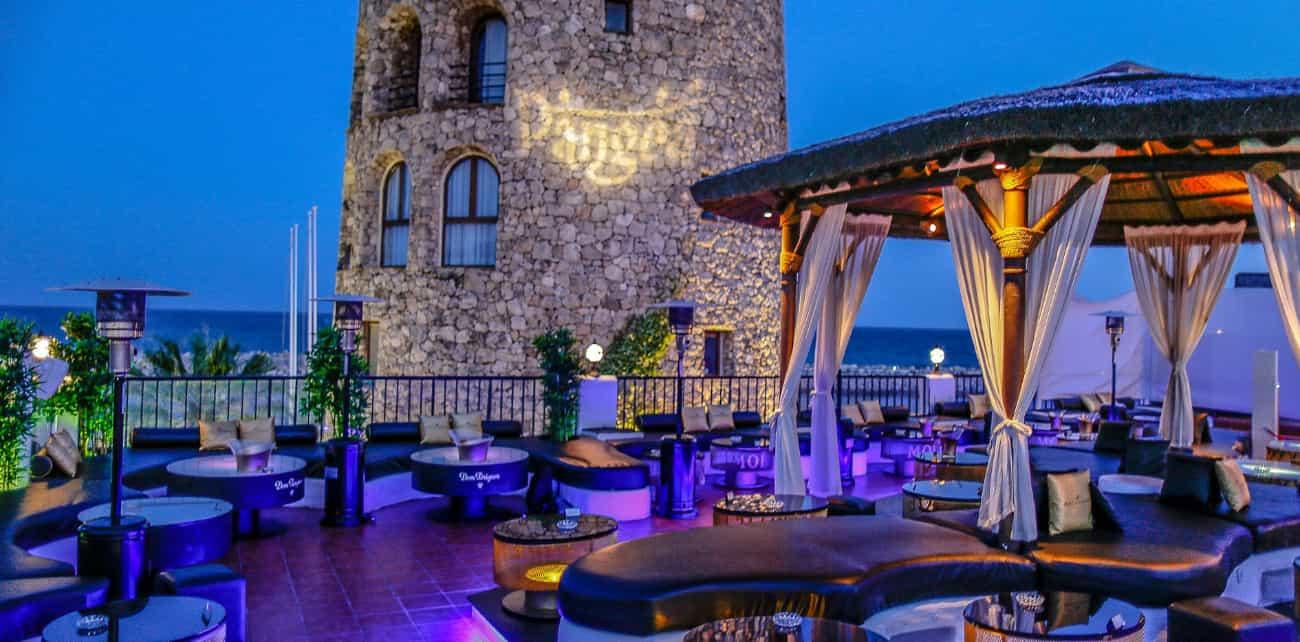 Best rooftop terrace in Puerto Banus