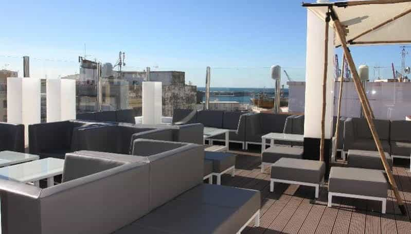 Rooftop terrace at Soho Lounge