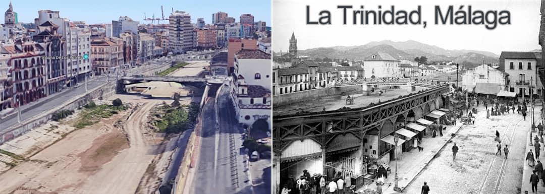 La Trinidad now and then