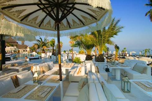 Marbella beach clubs
