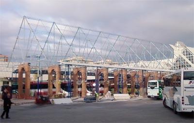 estación de autobús de Málaga