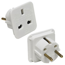 UK to Europe adaptor plug