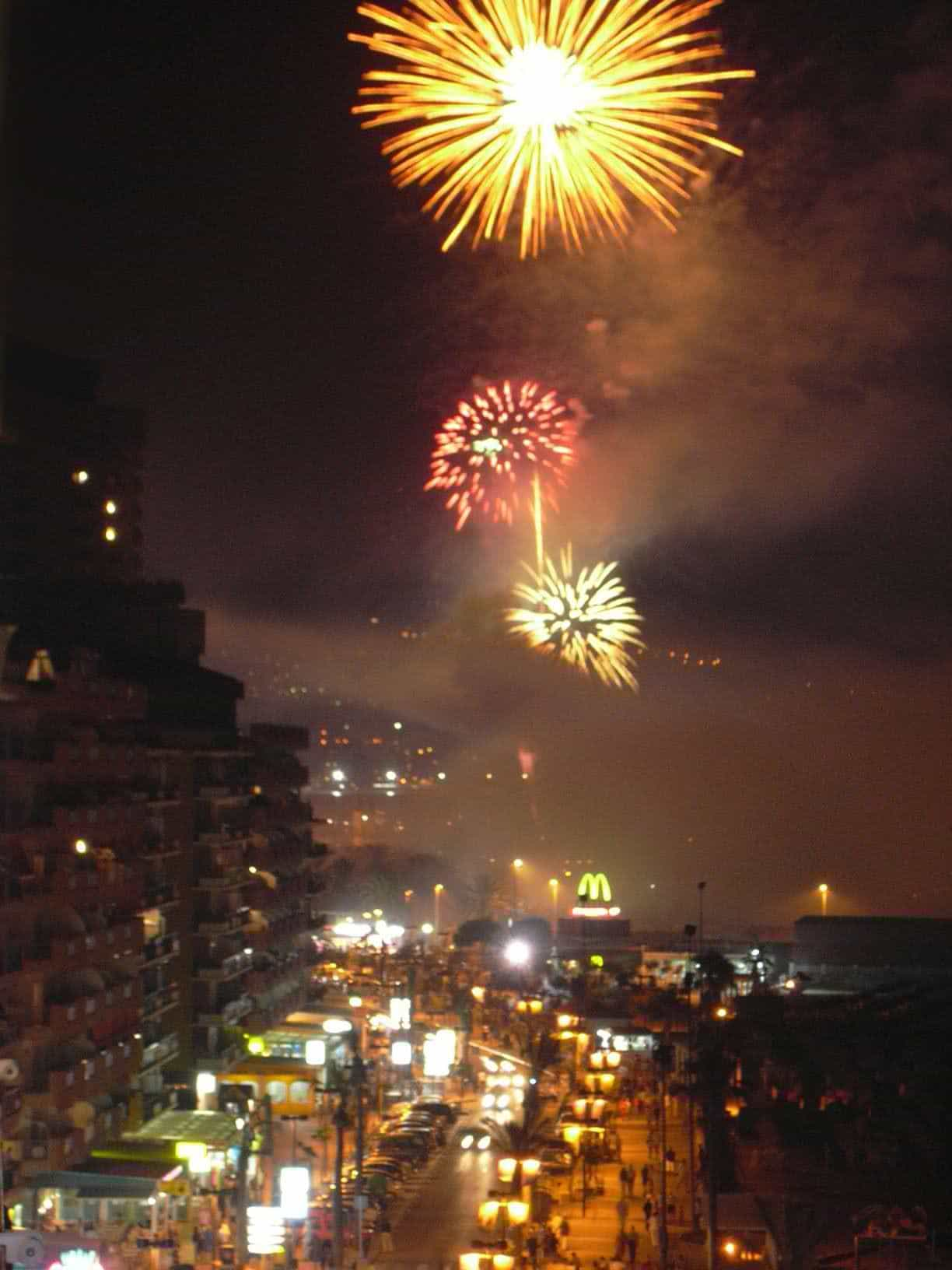 Fuengirola Fireworks 2 - January 10, 2012