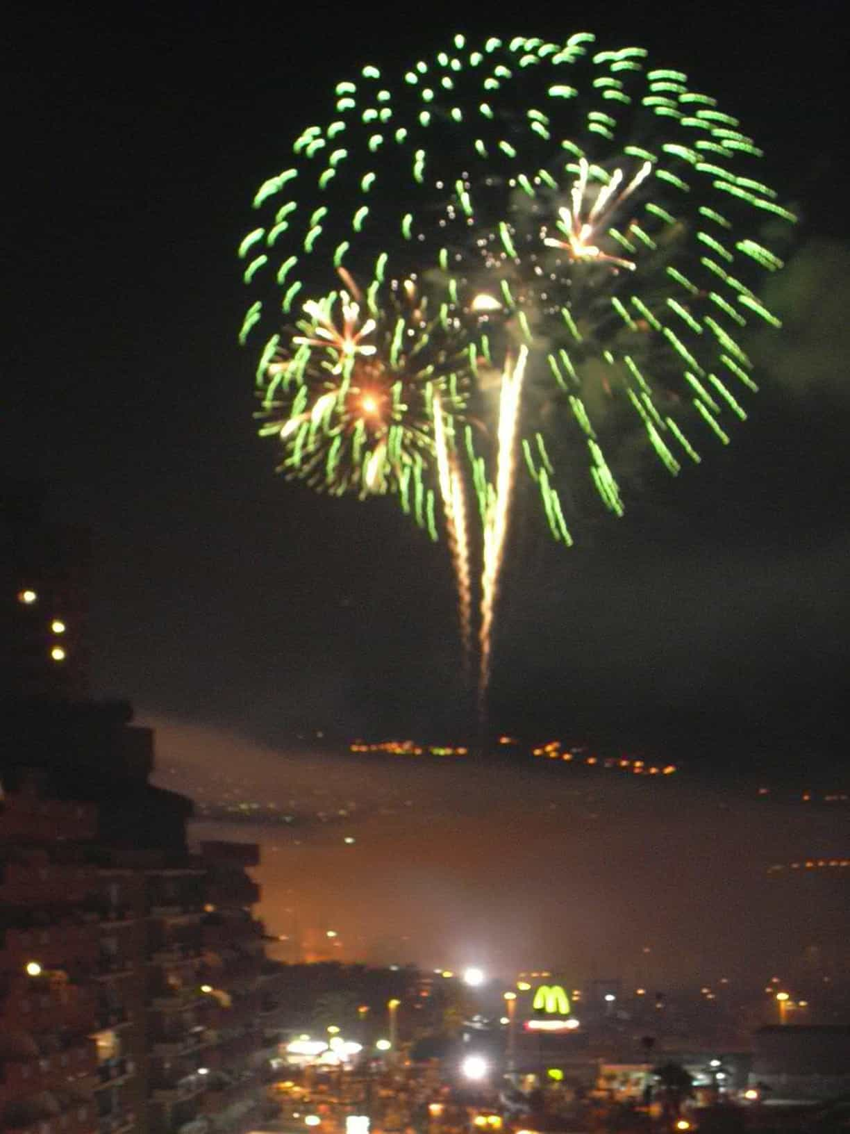 Fuengirola Fireworks - January 10, 2012