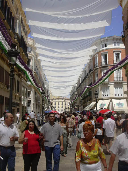 Malaga Fair streets 2