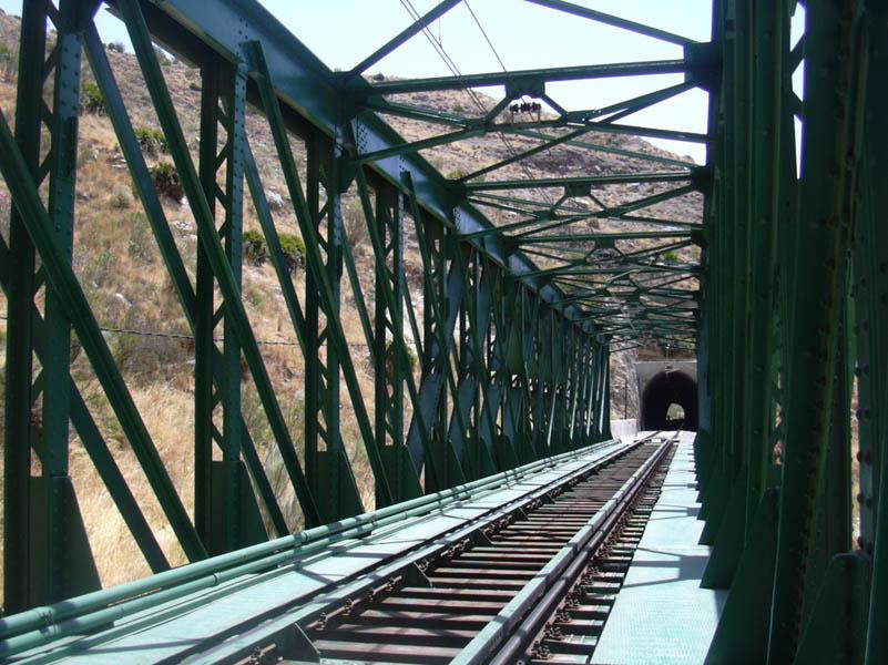 El Chorro train bridge closeup - Photo 13